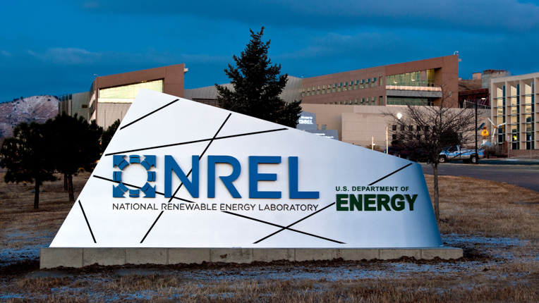 Figure 1. Entrance to the Department of Energy's National Renewable Energy Laboratory in Golden, CO. Icon