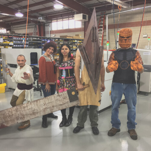 Halloween at Magna-Power