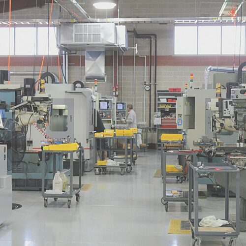 Magna-Power Machining Department
