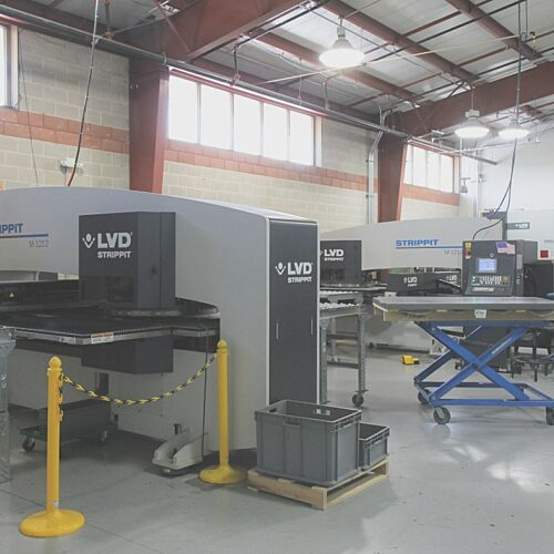 Magna-Power Sheet Metal Department