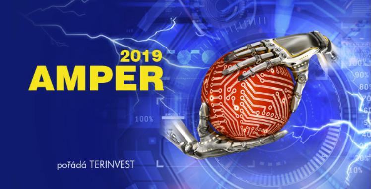 AMPER 2019 Logo