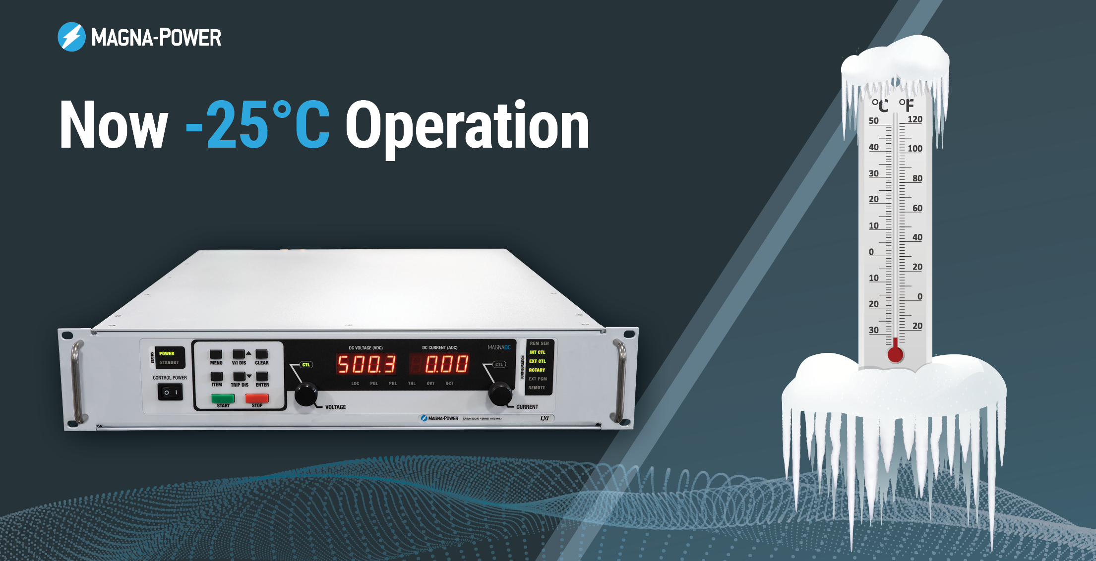 Magna-Power Expanded Low Temperature Rating Icon