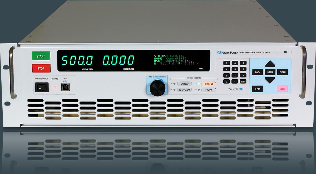 Magna Power Programmable Supplies And Electronic Loads Voltage Monitor Which Uses A Led To Show The Status Of Supply Dc